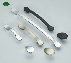New modern simple American cabinet handle European zinc alloy open drawer cabinet door handle wholesale