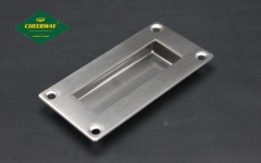 Good quality stainless steel handle, embedded furniture handle.