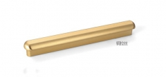 Gold one meter long aluminum alloy handle modern simple brushed brass cabinet handle