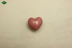 Heart shaped ceramic knob, high quality ceramic knob made in China.